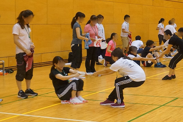 子ども身体運動発達指導士講習会の様子