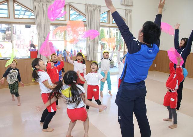 子ども身体運動発達指導士イメージ