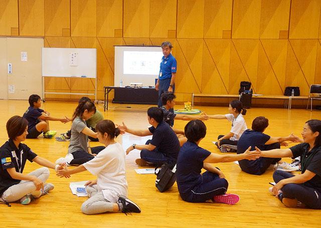 上級子ども身体運動発達指導士講習会の様子